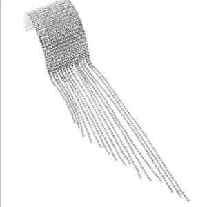 Jewelry - Rhinestone Bracelet/ Chain Tassel Pendant